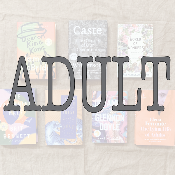 New Arrivals: Adult books