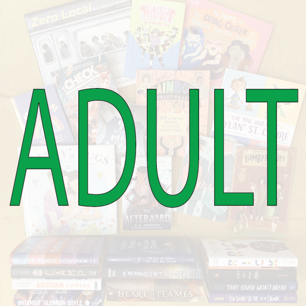 Books to Celebrate Pride: Books for Adults