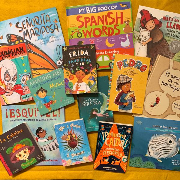 Libros en español y bilingüe / Spanish and Bilingual Books